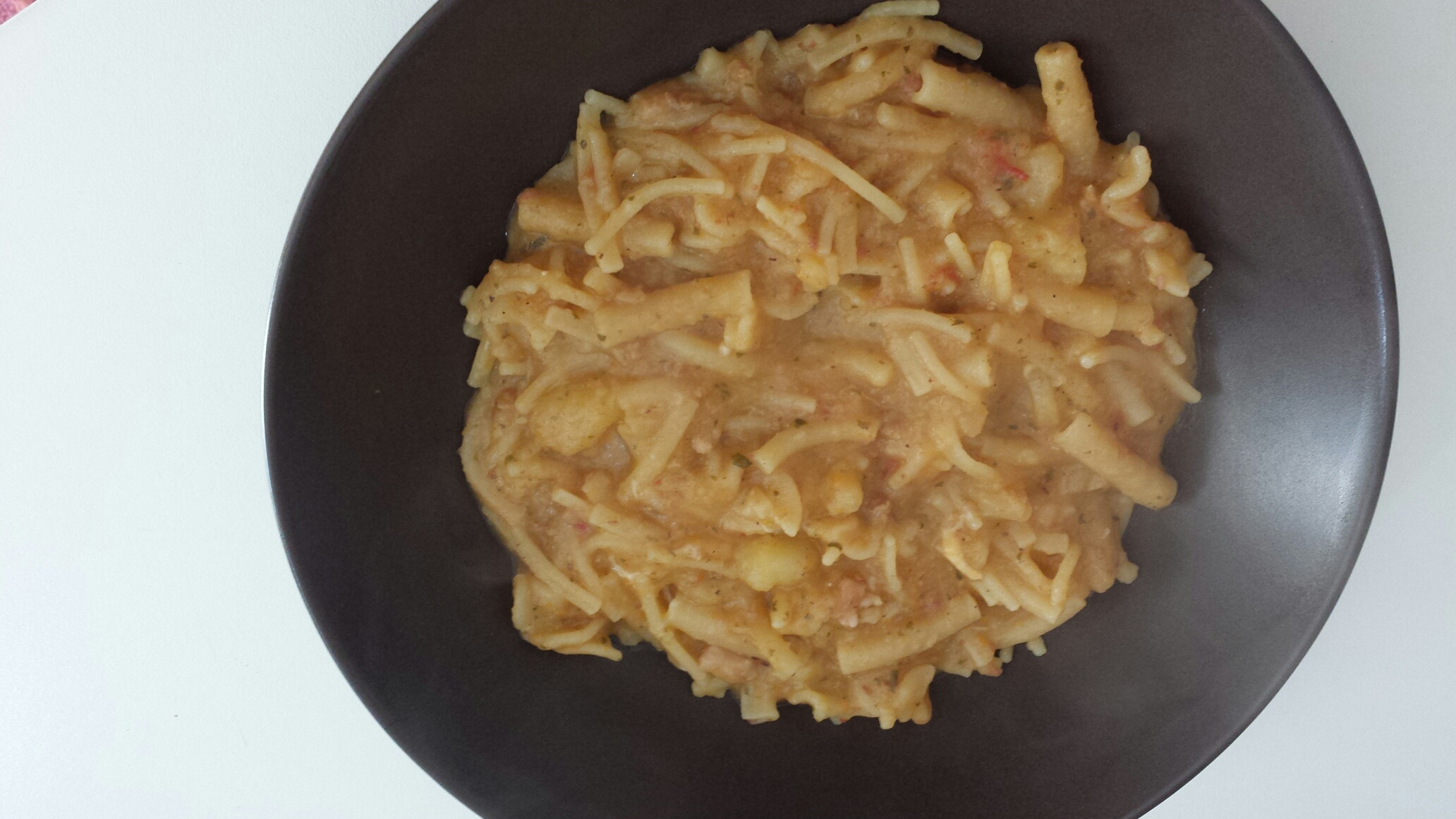 Pasta e patate 2